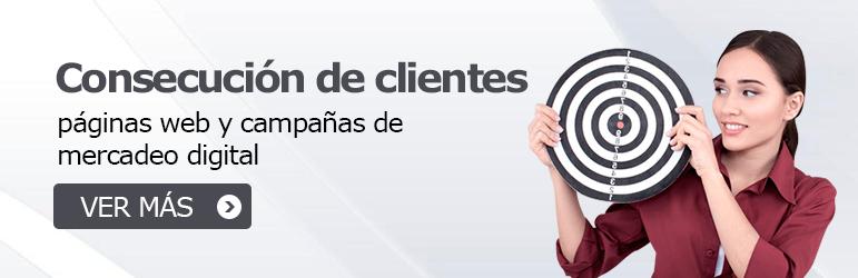 Herramientas para la consecucion de clientes mercadeo digital paginas web